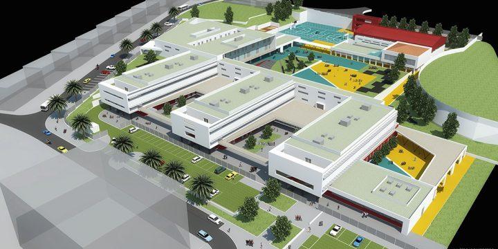 Empreitada de Construção de Novas Instalações para a Escola Básica do 2.º Ciclo Canto da Maia, Ilha de São Miguel