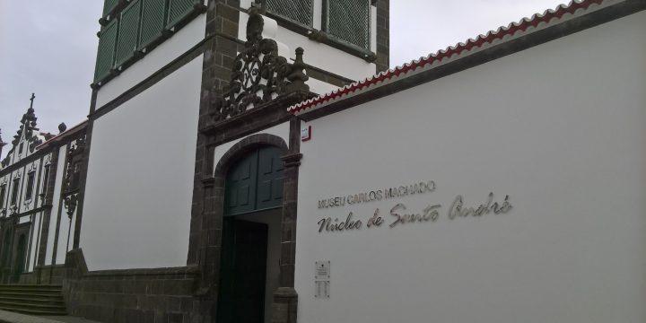 Empreitada  de Reabilitação do Núcleo de Santo André – Museu Carlos Machado, Ilha de São Miguel
