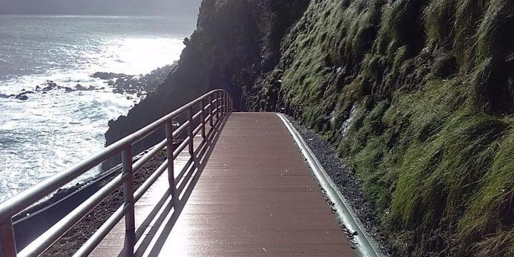 Empreitada de Estabilização da Orla Costeira do Porto do Salão, Ilha do Faial
