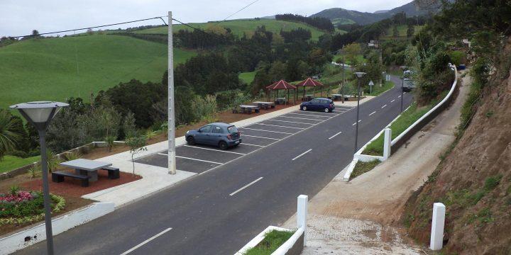 Empreitada de Requalificação da Grota do Bravo/Nazaré(1ª Fase); Parque de Estacionamento e Passeios na Nazaré e Amoreiras (2ª Fase); 3º Beco da Grota do Bravo – Envolvente (3ª Fase), Ilha de São Miguel