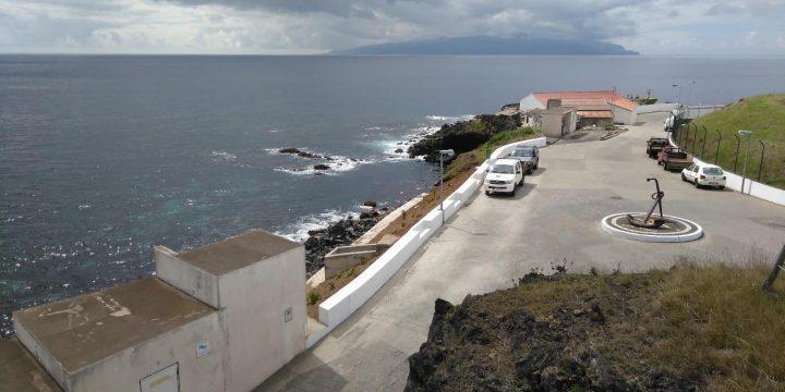 Empreitada de Protecção Costeira da Rotunda do Porto da Casa, Ilha do Corvo