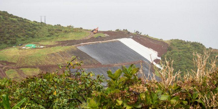 Empreitada de Consolidação dos Taludes da Lixeira de Santa Cruz – Ilha das Flores