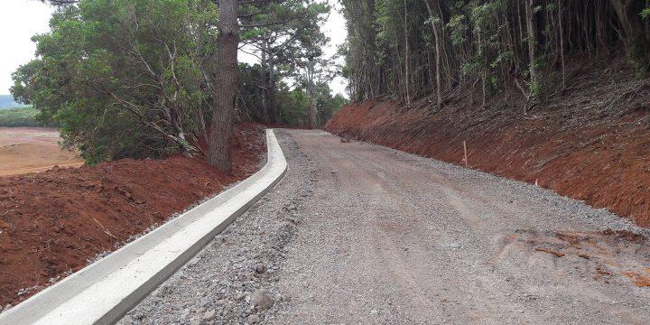 Empreitada de Execução do Caminho Rural da Área Protegida do Barreiro da Faneca – Parque Natural de Santa Maria